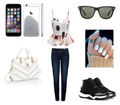 i have my own place in this world and im gonna own it by ladiee-e on Polyvore featuring Anine Bing, Ray-Ban and NIKE