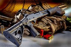 The Wilson Combat CQB Shotgun - When you have a lot of money to spend. Tactical Sling, Tactical Shotgun, Tactical Gear, Combat Shotgun, 22 Pistol, Wilson Combat, Firearms, Shotguns, Battle Rifle