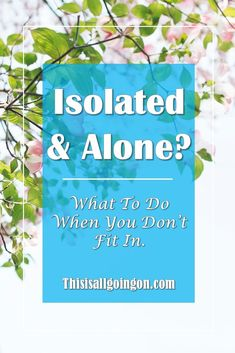 Do you feel like you're isolated and alone? Do you feel like you never quite fit in? Click here for some simple solutions. #relationships Do You Feel, What You Can Do, Like You, How To Find Out, How Are You Feeling, Mental Illness Quotes, Mental Health Quotes, Alone In A Crowd, Happiness Challenge