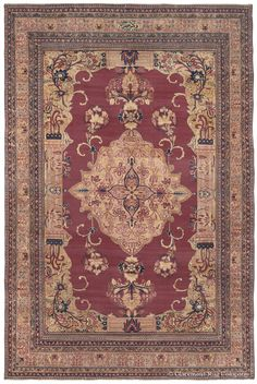 LAVER KIRMAN, Southeast Persian 9ft 5in x 13ft 11in Late 19th Century