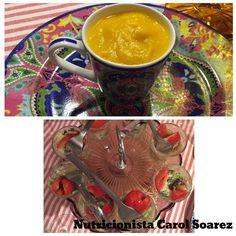 Lanchinho em #familia com entradinhas #saudaveis ! Creme de cenoura com #gengibre e #saladinha ! #nutricicarolsoarez #dicadanutri #dicadanutricarolsoarez #nutricaofuncional #healthlifestyle #lifestyle #comidadeverdade #glutenfree #lacfree #nutricaoeficiente #gastronomiafuncional #gastronomia #saude #saudavel #foco #paleo by carolsoarez
