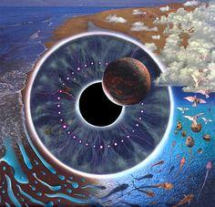 Pink Floyd - Pulse http://pinterest.com/recordsonwalls/pink-floyd-album-art/