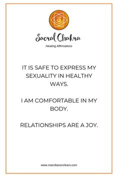 20 Affirmations To Heal Your Sacral Chakra Solar Plexus Chakra Healing, Chakra Healing Meditation, Throat Chakra Healing, Meditation Music, Mindfulness Meditation, Chakra Meanings, Healing Affirmations, Chakra Crystals, Yoga Poses