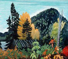 Lawren Harris Autumn in Algoma c.1923: