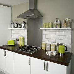 modern kitchen idea-retro style