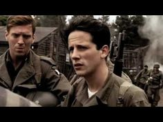 Band of Brothers- Liberation of Concentration Camp.  Whenever I watch this scene, I say a prayer thanking God for America and the men who have done SO much for THIS Country and the entire world. Where would this world be without America?
