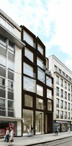 apartments SONO | gent - Projects - CAAN Architecten / Gent