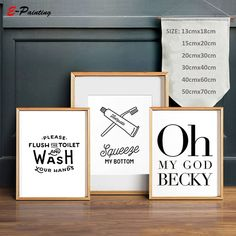 Flush Toilet Wash Your Hands Art Poster Kids Bathroom Minimalist Wall Art Decor Prints Canvas Painring Modern Home Decor Picture. Subcategory: Home Decor. Minimalist Painting, Minimalist Home Decor, Canvas Letters, Wall Canvas, Toilet Wall, Flush Toilet, Wall Prints, Canvas Prints, Bathroom Wall Art