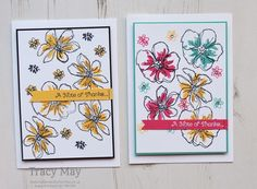 Penned & Painted by Stampin' Up! Tracy May - SU - CAS
