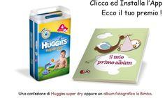 Richiedi la IoBimbo Card e ricevi in omaggio un pacco di pannolini Huggies!