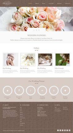 Sweetly  from ThemeForest - a awesome wordpress theme.