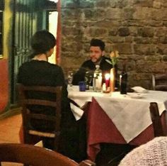 Selena Gomez and The Weeknd in Florence, Italy. (January 27th)