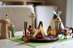 Native American Indian birthday party