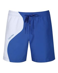 These colour blocked Calvin Klein swim shorts are just the thing for breathing new life into your summer wardrobe, set sale in style or hang on a beach with bliss. we can't promise these shorts will ensure relaxation but they can't hurt.