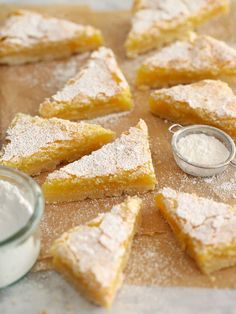 Meyer Lemon Bars is my favorite citrus treat that's oh so sweet!
