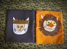 Adorable favor bags #where the wild things are #olive #party ideas
