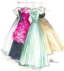 Where fashion meets paper! Conheça as delicadas e femininas ilustrações de Katie…