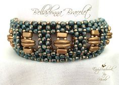 Kit and Tutorial : Bracelet Belladonna in English by EnvyBeadwork