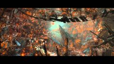 VFX of The Hobbit: Fantastical Creatures & Lands of Epic Beauty & Darkness, via YouTube.