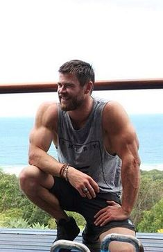 Chris Hemsworth - I like the short hair. Just don't shave that beard.