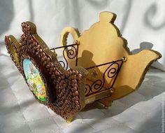 Купить Чайник для чайных пакетиков - коричневый, для дома и интерьера, для чайных пакетиков, чайник, купить подарок
