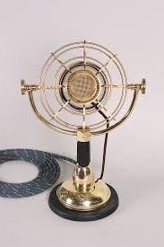 Bilderesultat for antique microphone stand