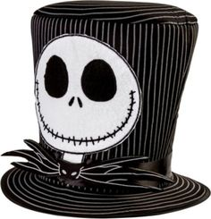 Jack Skellington Top Hat - Party City