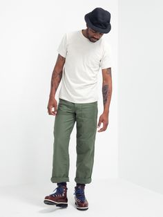 US ARMY FATIGUE PANTS - GREEN | GENTRY NYC