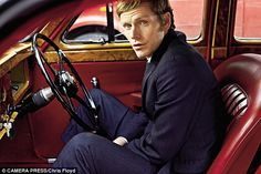 Shaun Evans as Morse in Endeavour.When describing the young Morse he plays in Endeavour, Evans says that the fictional detective is 'in a world, but not of that world. He's out of sync with the times he's living in'