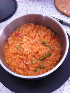 Tuna or Salmon Risotto (Thermomix)