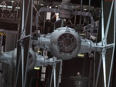 I loved getting a more detailed look at things in TFA, such as the Tie Fighters and other ships we had seen before.