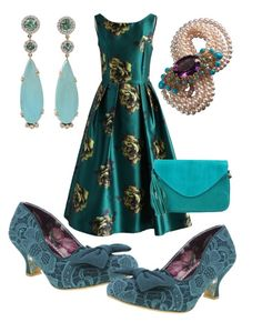 """Wurzburg"" by rellenj ❤ liked on Polyvore featuring Chicwish, Cocobelle, Pamela Huizenga and Irregular Choice"