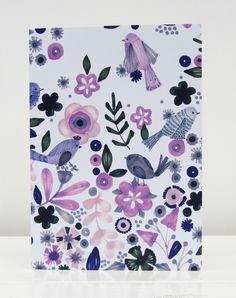 Secret garden blank card - Bethan Janine