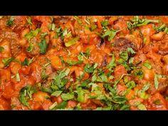 Tigaie cu cârnați afumați, șuncă și fasole albă - YouTube Salsa, Cooking Recipes, Mexican, Ethnic Recipes, Youtube, Food, Chef Recipes, Essen, Salsa Music