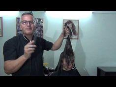Corte de Cabello Tecnica en radiales - YouTube
