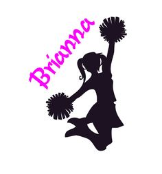 Items similar to Girls Bedroom Decor Decal Cheerleader Wall Sticker Teen Girls Name Personalized Sports Room Mural Dorm Room Decor Childs Kids Gift Decal on Etsy Cheer Hair, Cheer Bows, Cheerleading Tattoos, Cheerleading Stunting, Teen Room Decor, Bedroom Decor, Wall Sticker, Vinyl Decals, Girls Bedroom