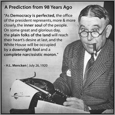 The original quote didn't have narcissist or fool. Still though - true Caricatures, Truth To Power, Original Quotes, Political Quotes, Thats The Way, Along The Way, Presidents, How To Remove, Good To Know