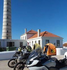 Porto BMW Motorad Pedro & Augusto have been showing us the local sites One of many lighthouses   #PillionPooch #MadeToTravel #Cute #Dog #AdventureRider #DogsOnAdventures #AdventureDog #MotorcycleAdventure #PetTravel #BikerDog #PuppyLove #DogsOnBikes #BMW #DogAdoption #AdoptDontShop #MotoDog #Multi