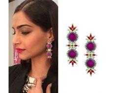 Sonam Kapoor in Amrapali #perniaspopupshop #shopnow #celebritycloset #designer #clothing #accessories