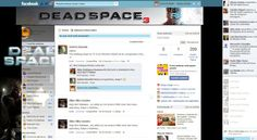 Theme for Facebook - Dead Space 3