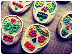 dia de los muertos + vegan sugar cookies | Mr. Kate
