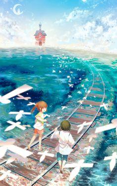 Spirited Away - Return by Pinlin