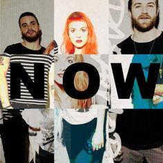 'Now' sera el próximo sencillo de Paramore y esta es la portada.