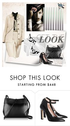 """""""Effortlessly classic"""" by fl4u ❤ liked on Polyvore featuring Chanel, Kara, Styli-Style, women's clothing, women, female, woman, misses and juniors"""