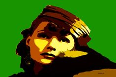 33-POP Art. Greta Garbo II.
