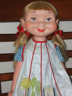 American Character Whimsie vintage doll Lena the Cleaner