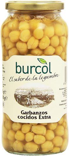 0,94€ - Garbanzos cocido 560 grs