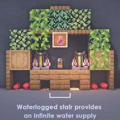 Minecraft Garden, Minecraft Cottage, Cute Minecraft Houses, Minecraft Room, Minecraft House Designs, Amazing Minecraft, Minecraft Crafts, Minecraft Furniture, Creeper Minecraft