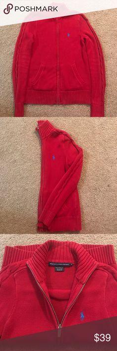 RALPH LAUREN SPORT ZIP UP SIZE S Gently Worn Ralph Lauren Sweater Ralph Lauren Other