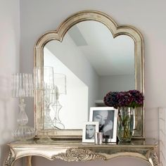 mmm! mirrored and lucite